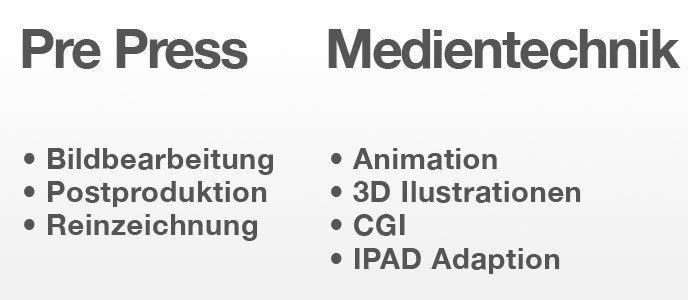 Pre Press - Medientechnik