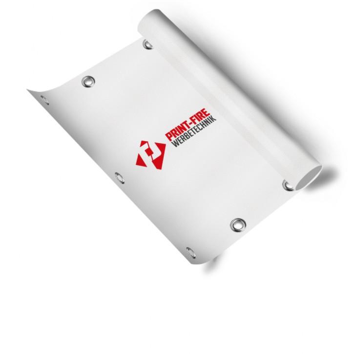 Banner Basic, PVC 480 g/m, 4/0 farbig