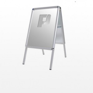 Kundenstopper Premium, A1, Aluminium